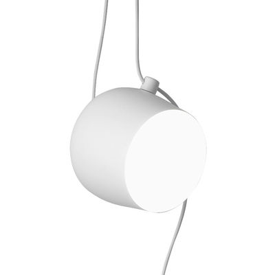 Suspension AIM LED /  Ø 24 cm - Flos blanc en métal