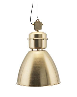 Luminaire - Suspensions - Suspension Volumen / Ø 54 cm - Métal - House Doctor - Laiton - Aluminium peint - Filin de suspension en acier
