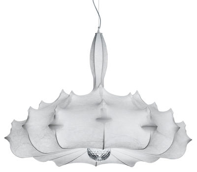 Suspension Zeppelin S1 - Flos beige en tissu