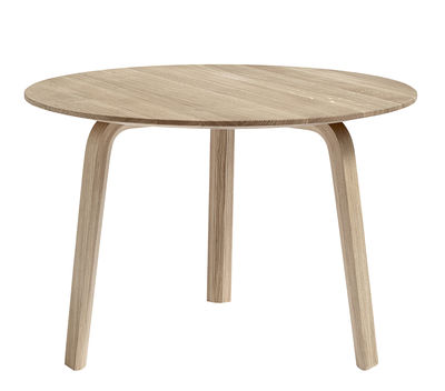 Mobilier - Tables basses - Table basse Bella / Ø 60 x H 39 cm - Hay - Chêne mat - Chêne verni mat