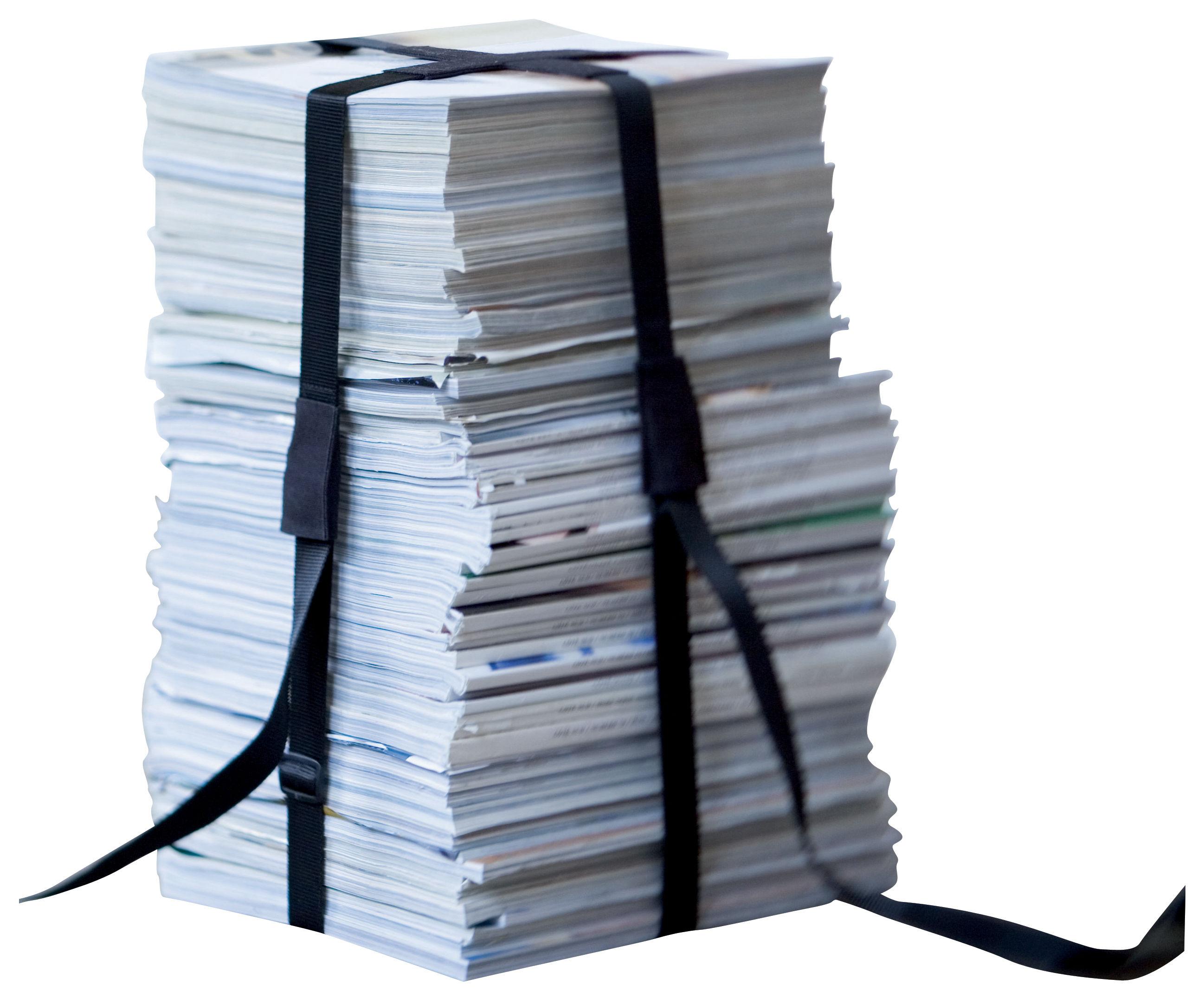 Mobilier - Tabourets bas - Tabouret Book / Sangle en tissu - ENOstudio - Noir - Nylon