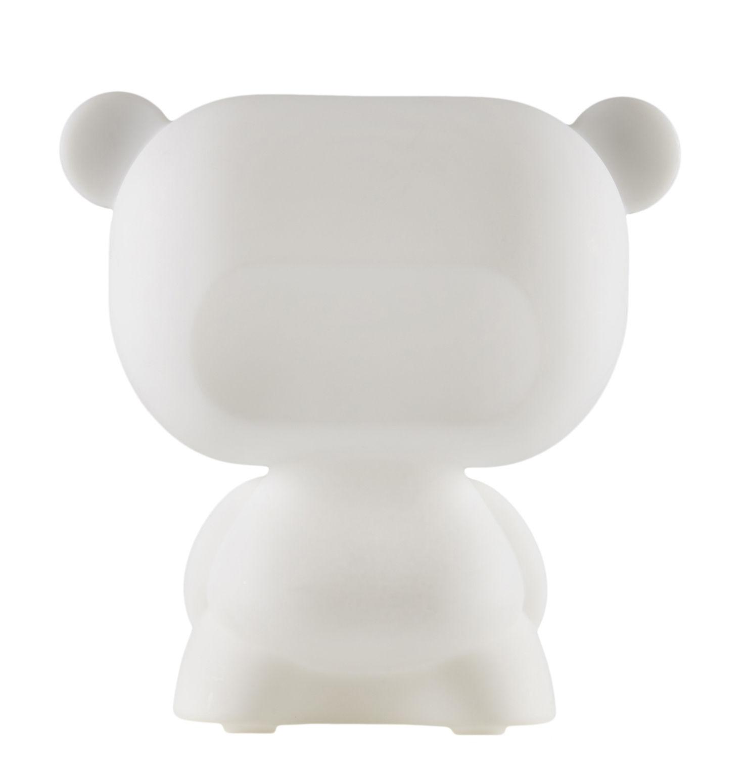 Dekoration - Für Kinder - Pure Tischleuchte - Slide - Weiß - recycelbares Polyethen