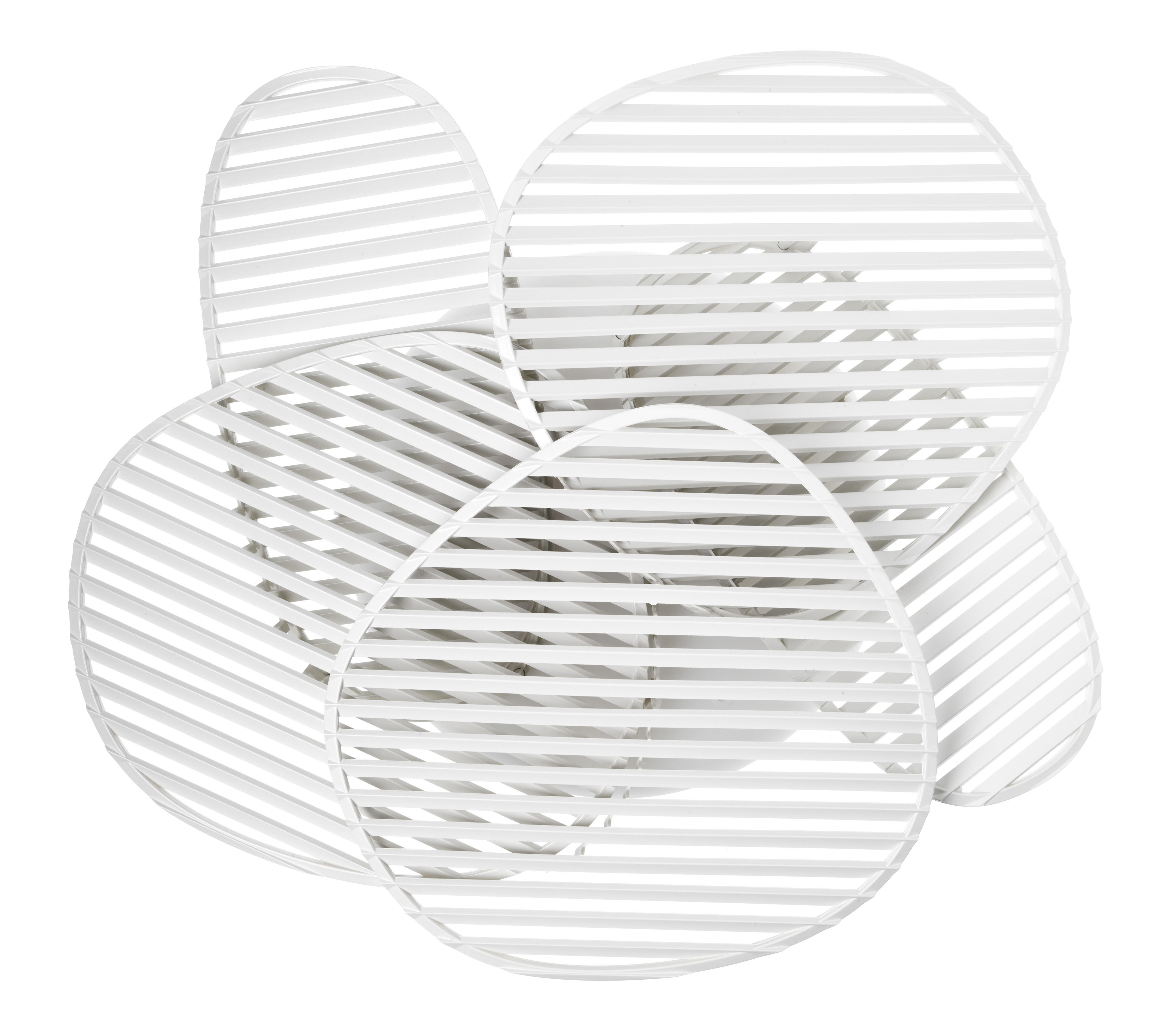 Lighting - Wall Lights - Nuage Wall light by Foscarini - White - ABS, Polycarbonate