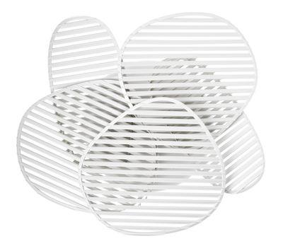 Nuage Wandleuchte / Deckenleuchte - L 63 x H 54 cm - Foscarini - Weiß