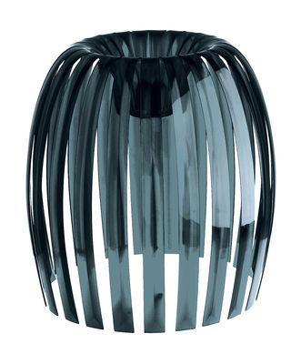 Abat-jour Josephine XL / Ø 50 x H 47,5 cm - Koziol anthracite transparent en matière plastique