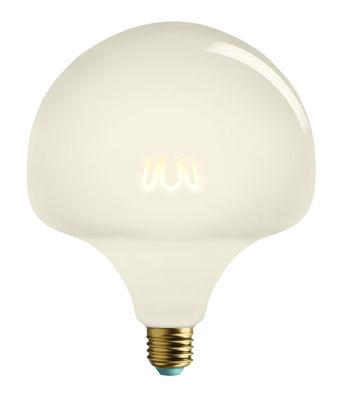 Luminaire - Ampoules et accessoires - Ampoule LED filaments E27 Wilma Milky / Dimmable - 4,5W (25W) - 250lm - Plumen - Blanc - Aluminium, Verre