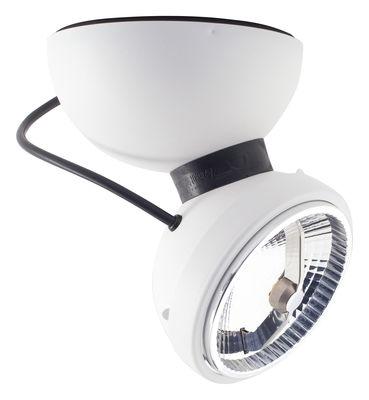 Luminaire - Appliques - Applique Monopro 360° LED / Plafonnier - Azimut Industries - Blanc - Métal laqué