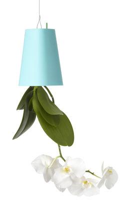 Dekoration - Spaßig und ausgefallen - Sky Blumenkasten aus recyceltem Polypropylen - Small (H 13 cm) - zum Aufhängen - Boskke - Blau - Polypropylène recyclé