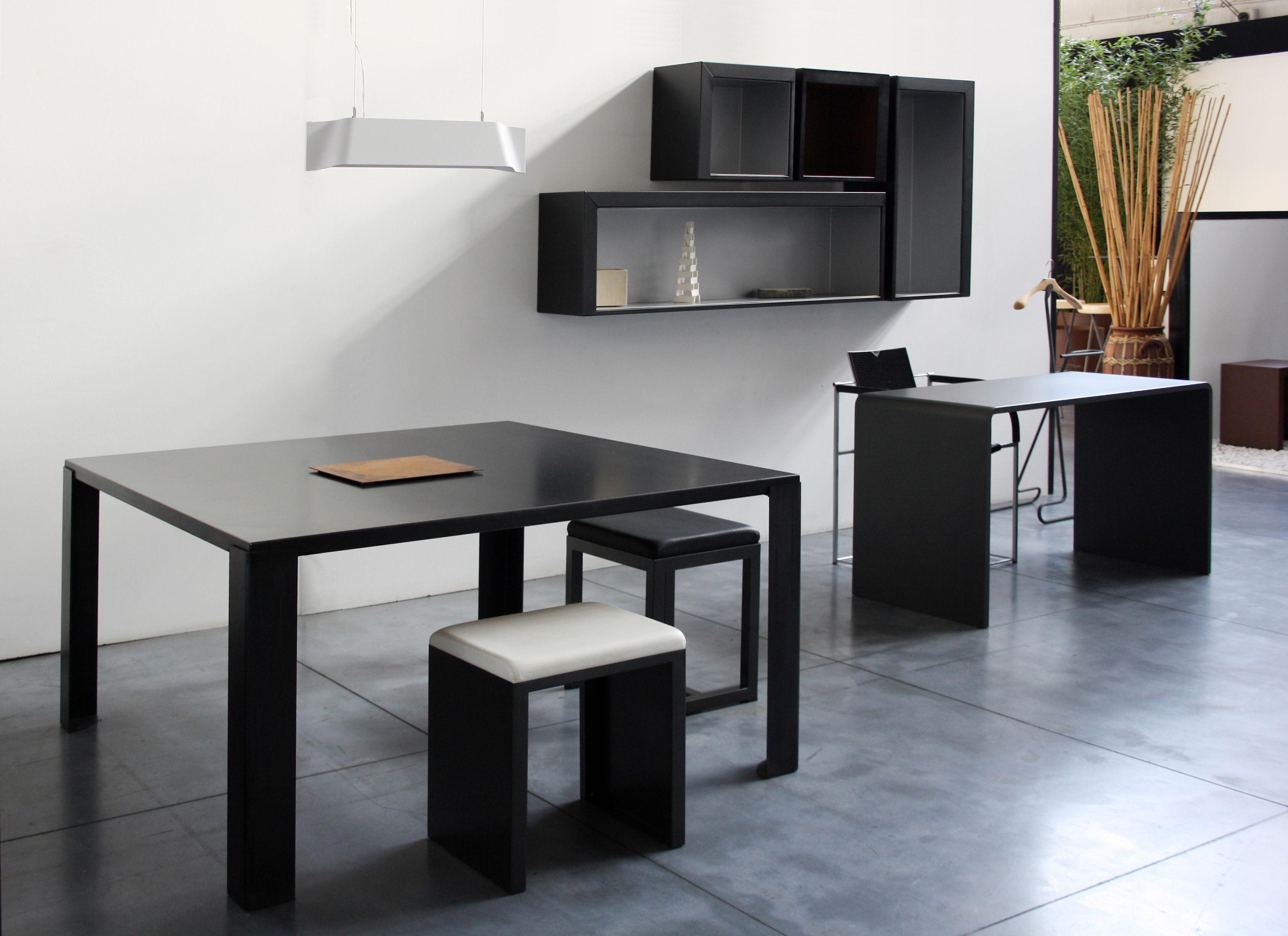 Bureau solitaire l 120 cm noir zeus