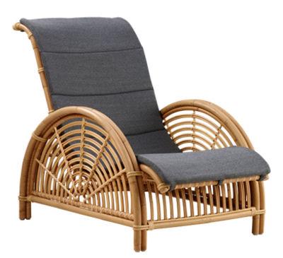 Coussin / Pour fauteuil Paris - Sika Design gris en tissu