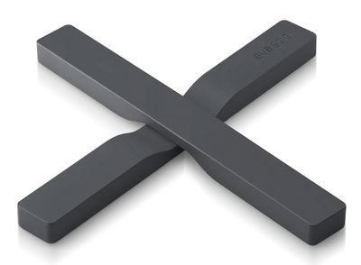Dessous de plat magnétique / Pliable - Eva Solo gris en matière plastique