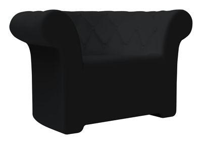 Chaise Sirchester - Serralunga noir en matière plastique
