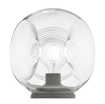 Illuminazione - Lampade da tavolo - Lampada da tavolo Eyes / Vetro - Ø 35 cm - Fabbian - Trasparente - vetro soffiato
