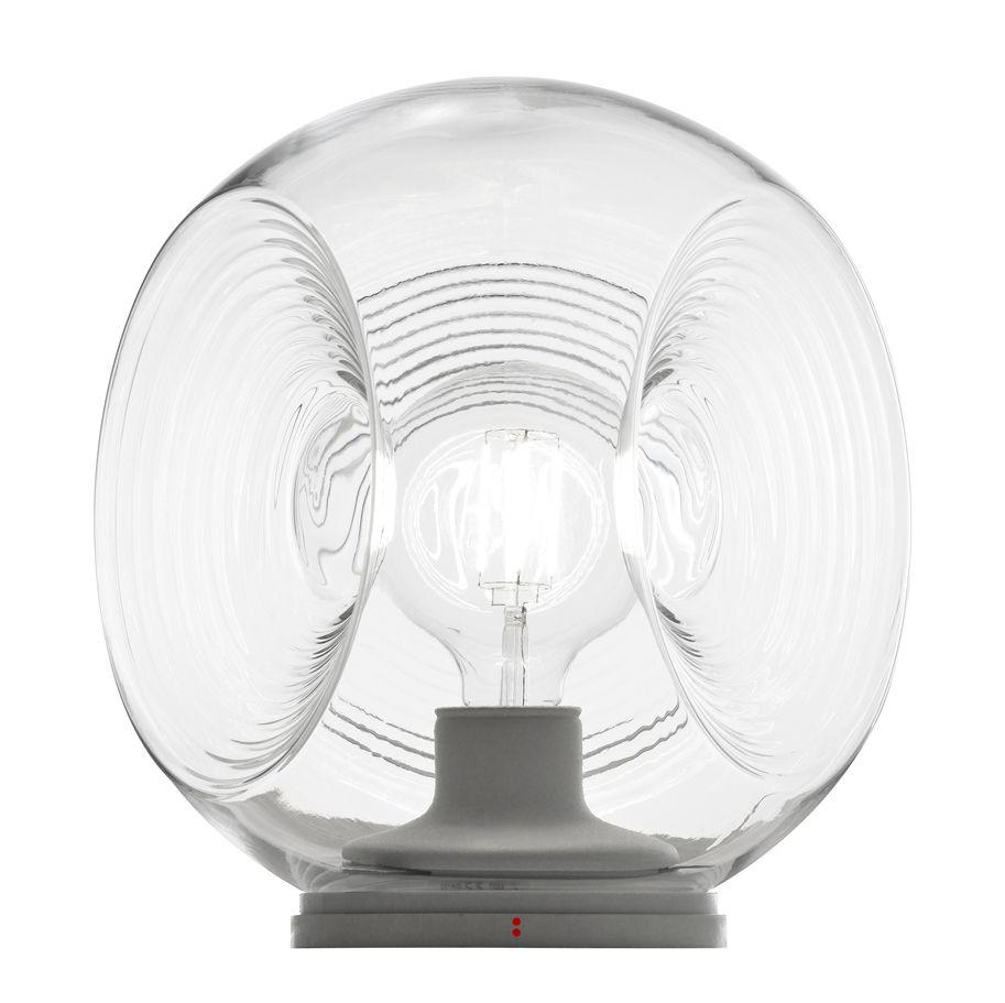 Luminaire - Lampes de table - Lampe de table Eyes / Verre - Ø 35 cm - Fabbian - Transparent - Verre soufflé