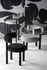 Fat Padded chair - / Velvet by Tom Dixon