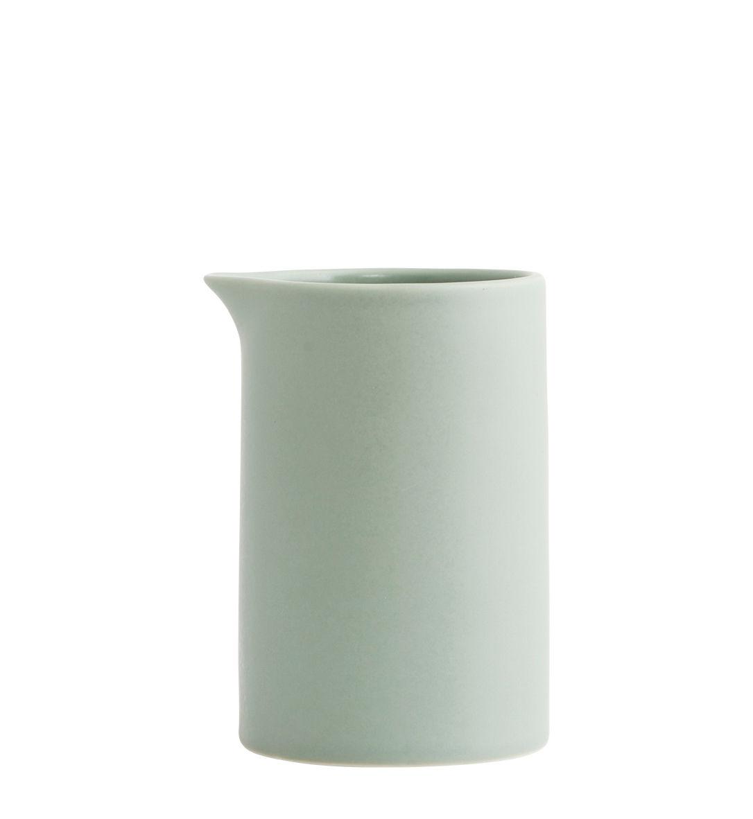 Arts de la table - Thé et café - Pot à lait Pot / Porcelaine - House Doctor - Vert d'eau - Porcelaine