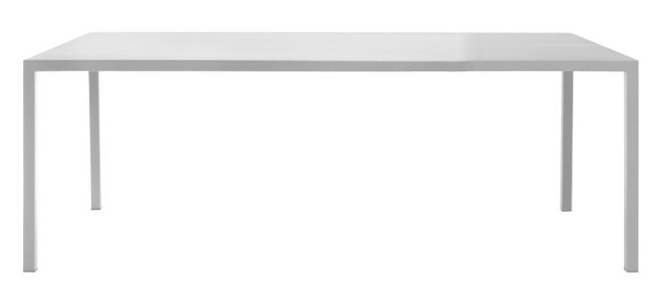 Furniture - Dining Tables - Iltavolo Rectangular table by Opinion Ciatti - White - Painted metal