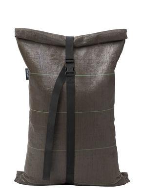 Outdoor - Decorazioni e accessori - Sacco per umidi Medium 40L - / sacco per compost di Bacsac - 40L / Marrone - Tela geotessile