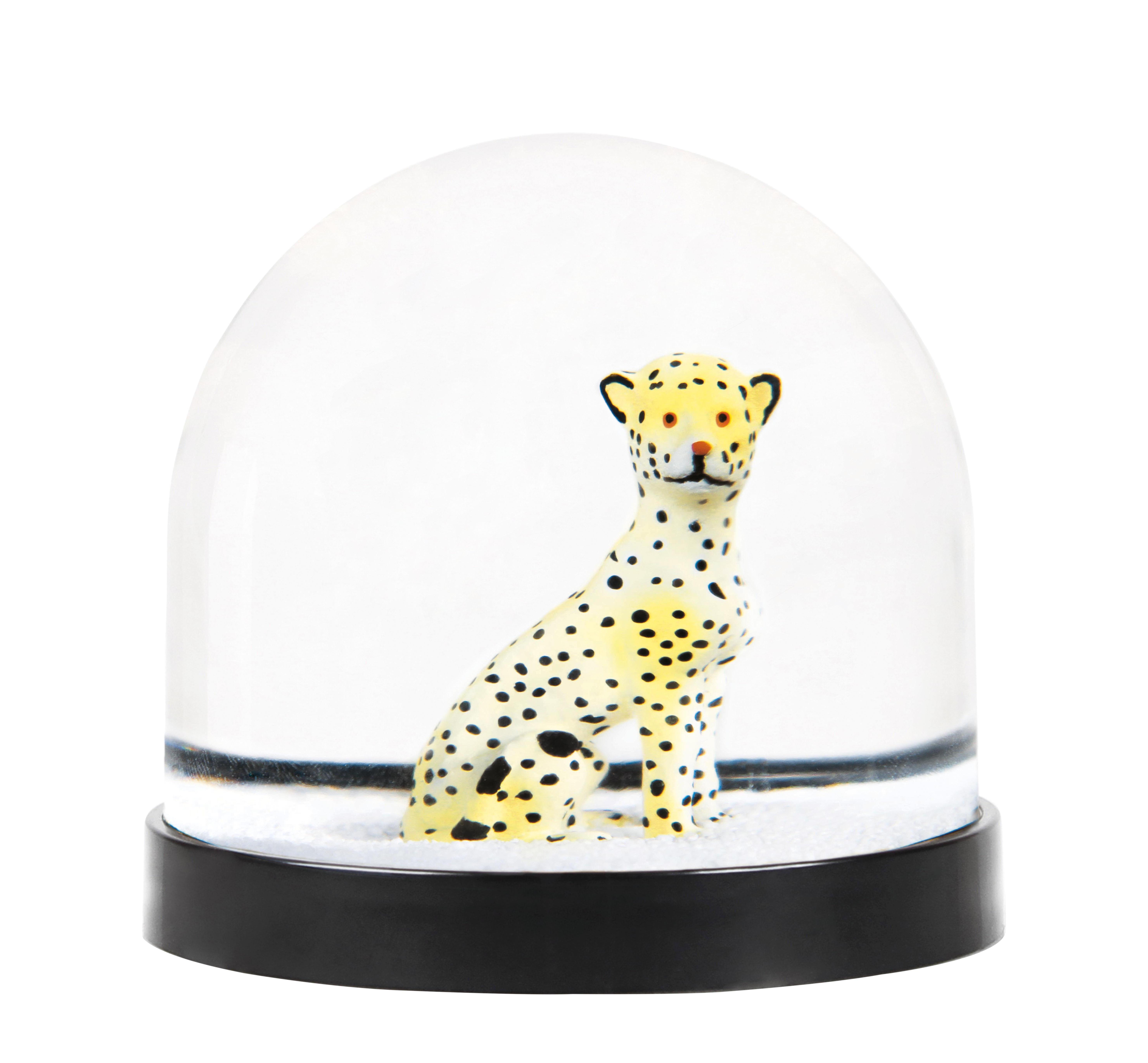 Dekoration - Für Kinder - Schneekugel / Leopard - & klevering - Leopardenmuster - Plastik