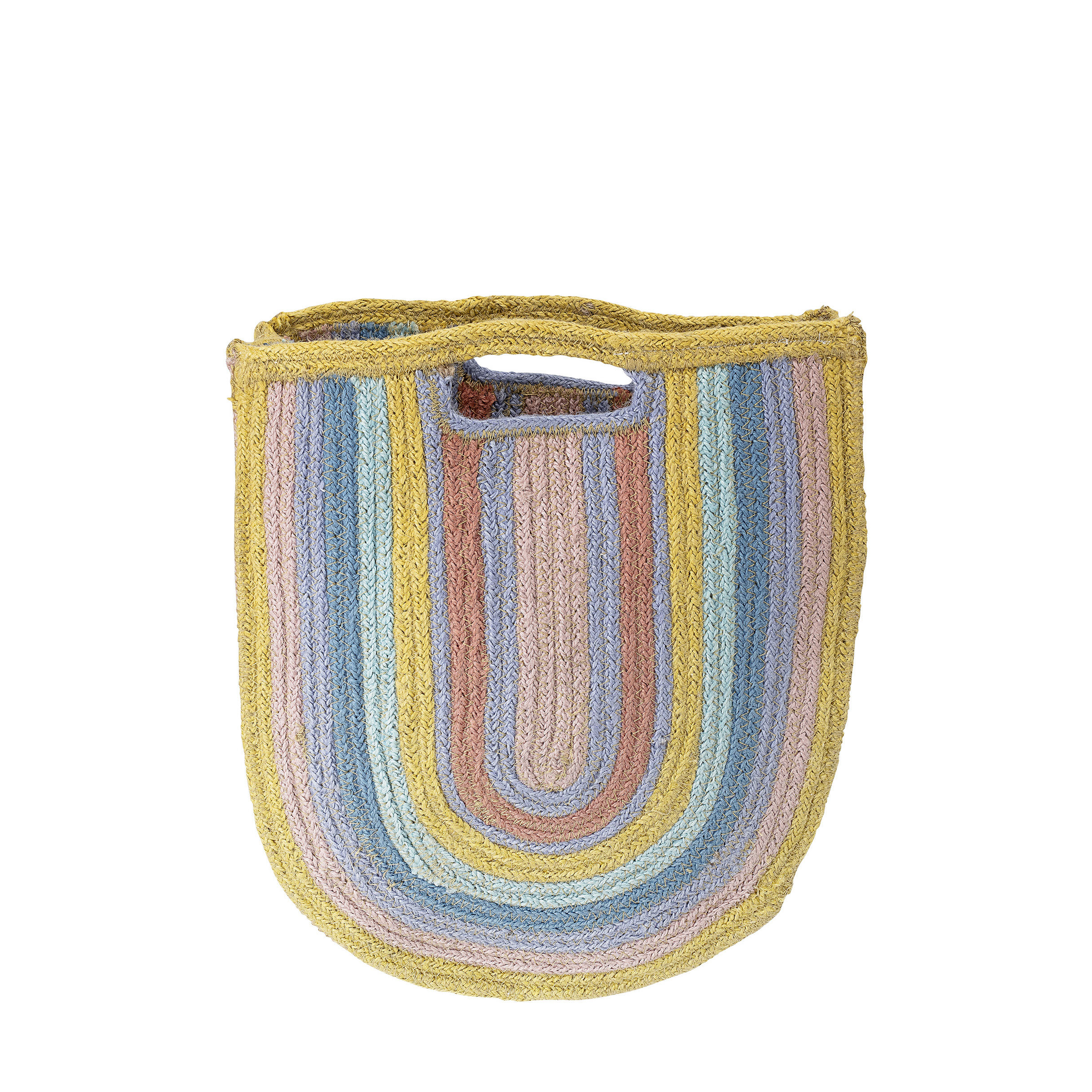 Decoration - Children's Home Accessories - Shopping bag - / Hessian by Bloomingville - Multicoloured - Hessian