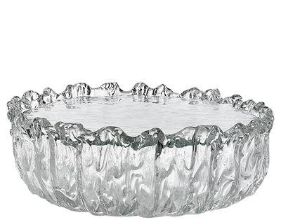 Mobilier - Tables basses - Table basse Fountain / Verre - Ø 65 x H 21 cm - Glas Italia - Ø 65 x H 21 cm / Transparent - Verre de Murano