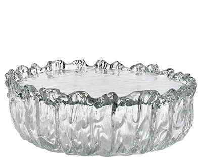 Table basse Fountain / Verre - Ø 65 x H 21 cm - Glas Italia transparent en verre