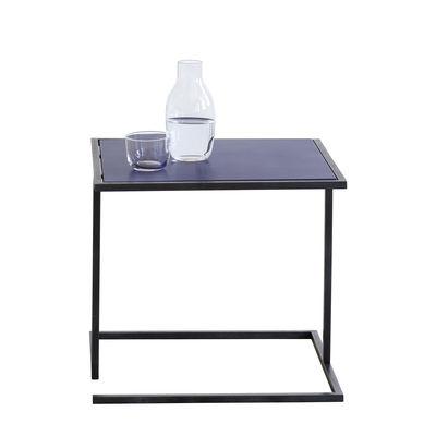 Table d'appoint Andrea / 44 x 44 cm - Métal - Serax noir,bleu ultramarine en métal