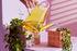 Vaso per fiori Tile Small - / 10.5 x 10.5 x 10 cm di & klevering