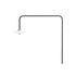 Hanging Lamp n°5 Wandleuchte mit Stromkabel / H 100 x L 90 cm - valerie objects
