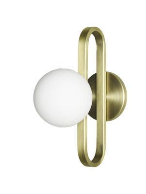 Tous les designers - Applique Cime Small / Ø 12 cm - ENOstudio - Or - Acier, Verre soufflé