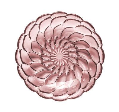 Assiette creuse Jellies Family / Ø 22 cm - Kartell rose en matière plastique