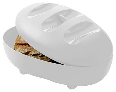 Tableware - Boxes and jars - Manna Bread box - Bread bag by Koziol - White - Plastic