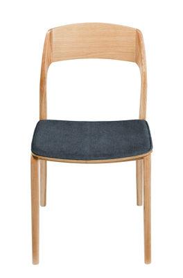Mobilier - Chaises, fauteuils de salle à manger - Chaise / Chêne & tissu - RED Edition - Orage / Chêne - Chêne massif, Coton