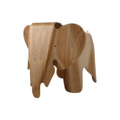 Déco - Objets déco et cadres-photos - Décoration Eames Elephant (1945) / L 78,5 cm - Contreplaqué - Vitra - Cerisier - Contreplaqué