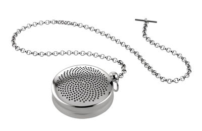Tableware - Tea & Coffee Accessories - T-Timepiece Infuser by Alessi - Steel - Stainless steel