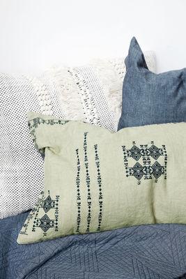 kissen inka von house doctor gr n made in design. Black Bedroom Furniture Sets. Home Design Ideas