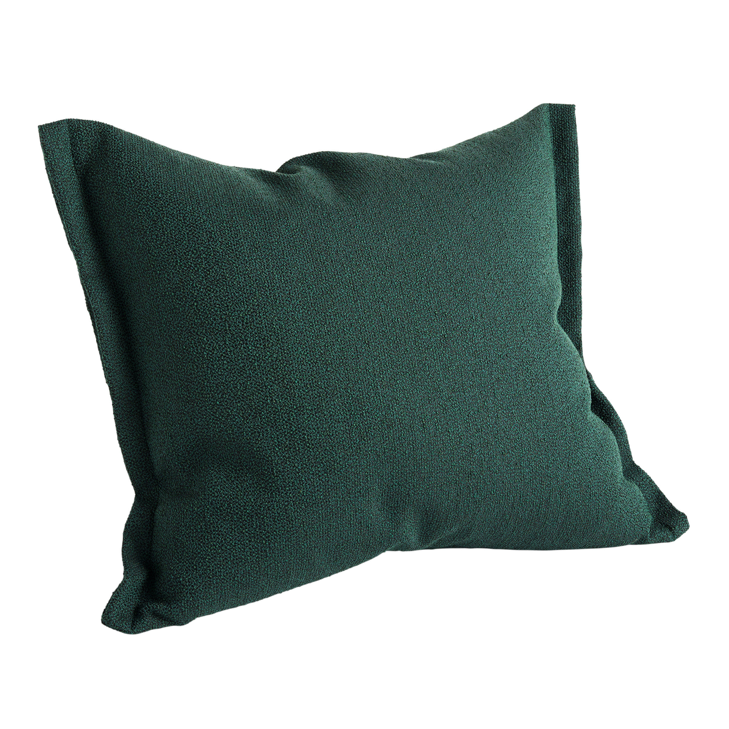 Dekoration - Kissen - Plica Sprinkle Kissen / 60 x 55 cm - Hay - Dunkelgrün - Baumwolle, Polyacryl, Polyesterfaser