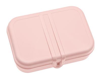 Déco - Pour les enfants - Lunch box Pascal Large / 2 compartiments - Koziol - Rose poudré - Plastique