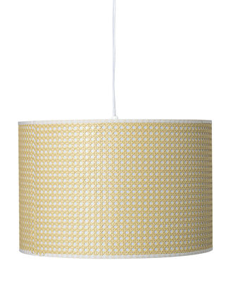 Lighting - Pendant Lighting - Pendant - / Wicker by Bloomingville - Natural - Bamboo cane, PVC