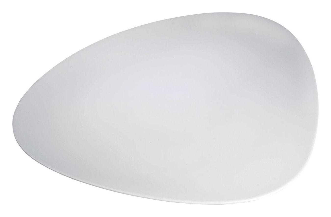 Tavola - Piatti da portata - Piatto Colombina di Alessi - Bianco - Porcellana