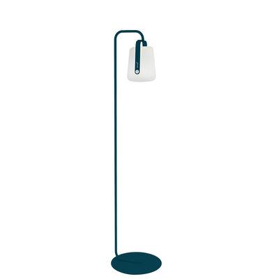 Illuminazione - Lampade da terra - Piede BALAD PIED SIMPLE - per lampade Balad / Small H 157 cm di Fermob - Blu Acapulco - Acciaio verniciato