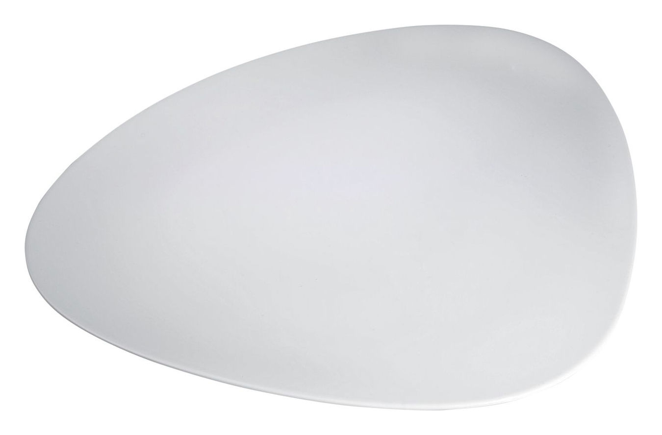 Arts de la table - Plats - Plat Colombina - Alessi - Blanc - Porcelaine