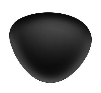 Plateau Colombina / 40 x 34 cm - Alessi noir en métal
