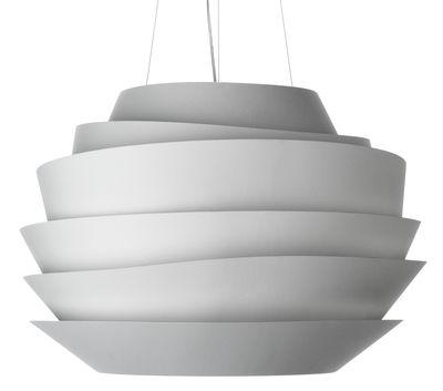 Illuminazione - Lampadari - Sospensione Le soleil di Foscarini - Bianco - policarbonato