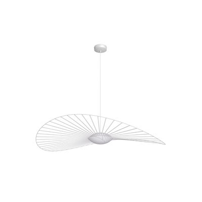 Illuminazione - Lampadari - Sospensione Vertigo Nova LED - / Ø 140 cm di Petite Friture - Bianco - Fibra di vetro, Poliuretano, Vetro a tre strati