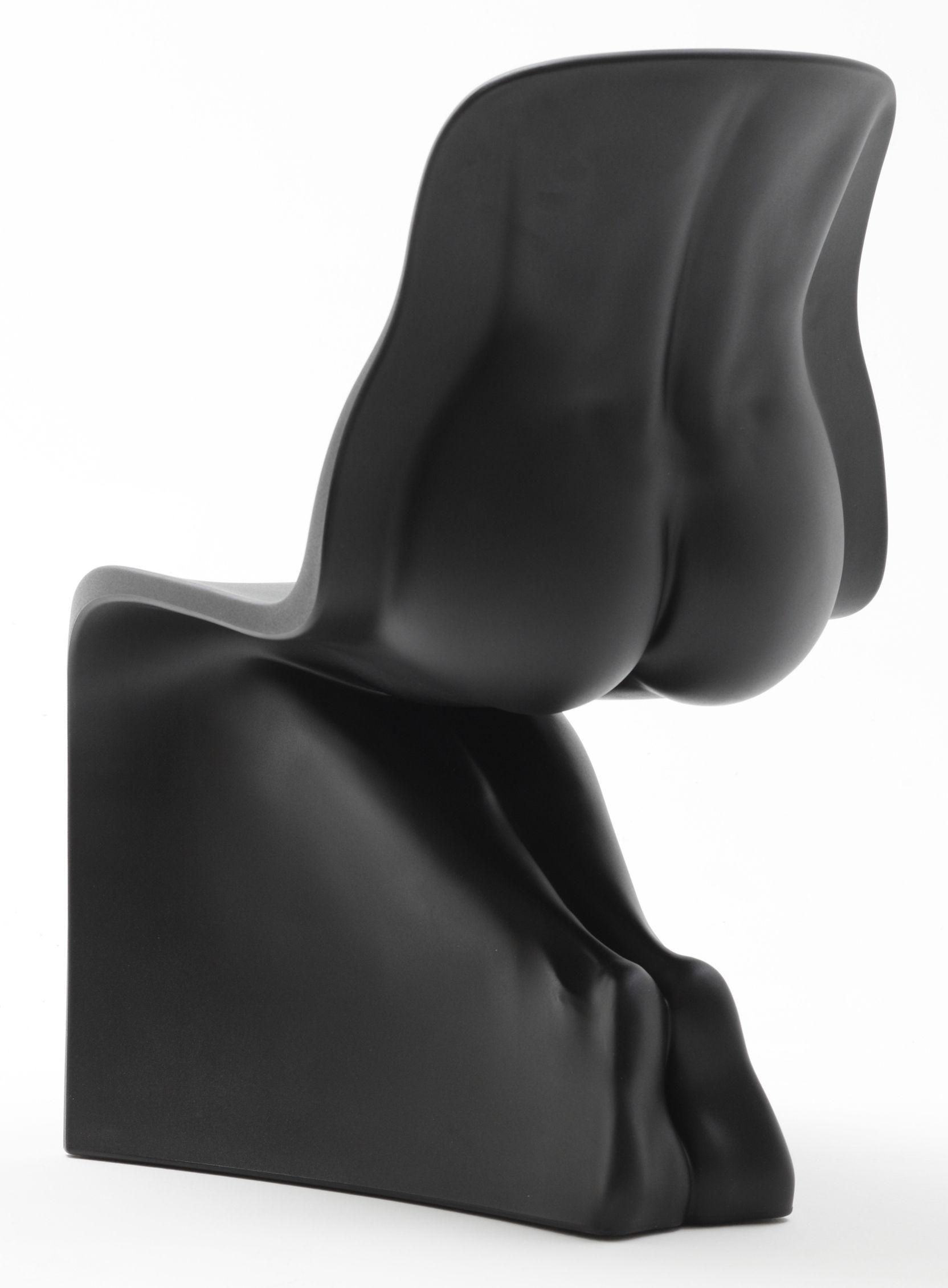 Möbel - Stühle  - Her Stuhl - Casamania - Schwarz - Polyäthylen