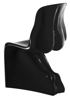 Möbel - Stühle  - Her Stuhl lackiert - Casamania - Schwarz - Polyäthylen