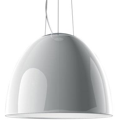 Suspension Nur Gloss Ø 55 cm - Version laquée - Artemide blanc laqué en métal