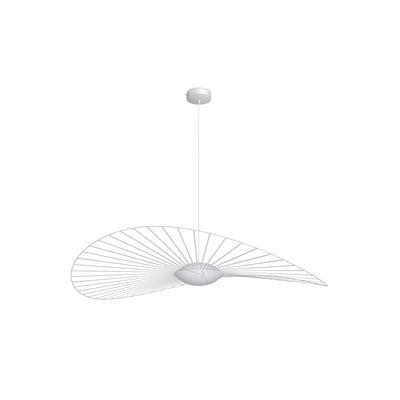 Luminaire - Suspensions - Suspension Vertigo Nova LED / Ø 140 cm - Petite Friture - Blanc - Fibre de verre, Polyuréthane, Verre triplex