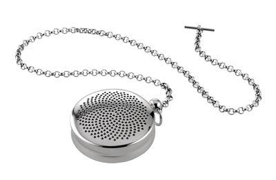 Tischkultur - Tee und Kaffee - T-Timepiece Teekugel - Alessi - Stahl - rostfreier Stahl